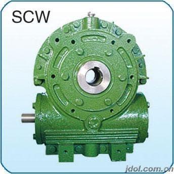 供应SCWS系列空心轴蜗轮减速机