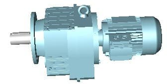 免费保养R87斜齿轮硬齿面减速机