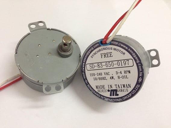 电动广告灯永磁电机 SD-83-650 双耳朵