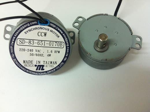 电动转换式广告同步电机 SD-83-651 双耳朵