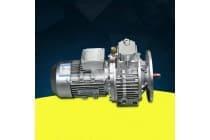 供应行星摩擦式无极调速减速机手动调速铝壳齿轮减速机