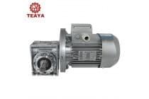 厂家RV50系列减速机,铝合金高效伺服法兰蜗轮减速机
