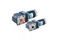 厂家25W300W直流弧锥齿实心输出减速电机马达