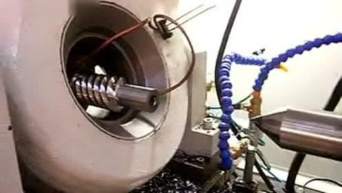 减速机蜗杆高效震撼旋风铣削_标清